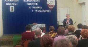 """Spotkanie historyczno-patriotyczne """"Stanisław Górecki – zapomniany bohater z Rębowa i Wyszogrodu"""""""