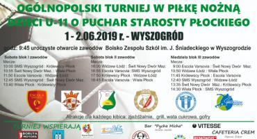 Ogólnopolski Turniej Piłkarski Chłopców U-11 o Puchar Starosty Płockiego –Sportowy Dzień Dziecka
