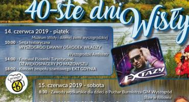 XL Dni Wisły w Wyszogrodzie. 14-16 czerwca