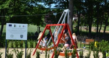 W Bodzanowie powstała nowa siłownia i plac zabaw dla dzieci