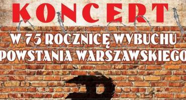 1 sierpnia 2019 Amfiteatr nad Wisła Koncert w Rocznicę Wybuchu Powstania Warszawskiego