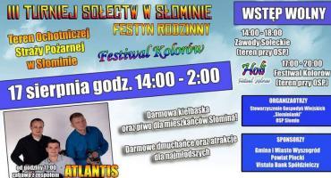 III Turniej Sołectw 2019 (Słomin 17.08)