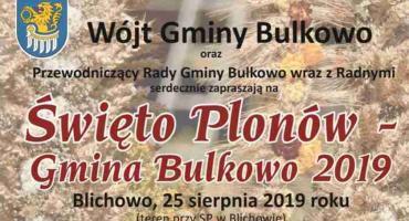 Święto Plonów w gminie Bulkowo - Blichowo 25.08.2019