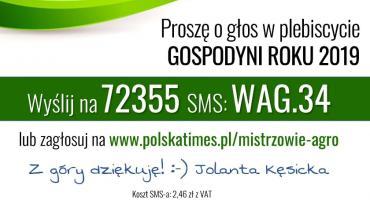 Nominacja Samorządu Województwa Mazowieckiego - Kęsicka Jolanta