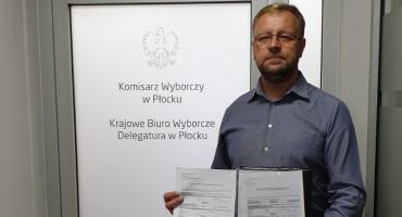 KWW Koalicja Bezpartyjni i Samorządowcy okręg 16 płocko-ciechanowski zarejestrowany