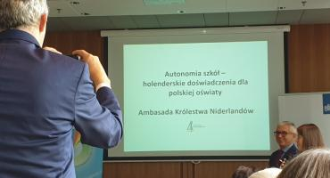 """""""Autonomia szkół – holenderskie doświadczenia dla polskiej oświaty"""""""