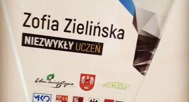 Zofia Zielińska - NIEZWYKŁY UCZEŃ z Wyszogrodu