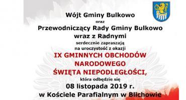 IX Gminne Obchody Święta Niepodległości - Blichowo 8 XI 2019
