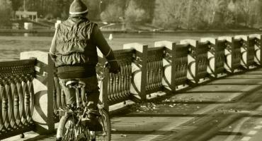 Wpadka pijanego rowerzysty