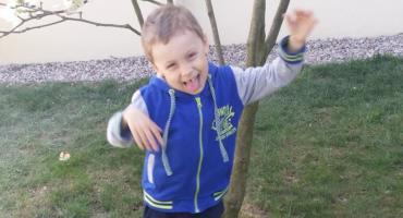 Poszukiwany 5 - letni Dawidek Żukowski