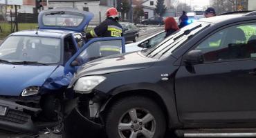 Fiat zderzył się z Toyotą