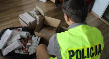 Nielegalne wyroby tytoniowe zabezpieczone przez skierniewicką policję