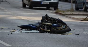 Poważny wypadek na skrzyżowaniu ulic Wyszyńskiego i Widok