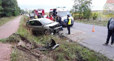 Groźny wypadek w miejscowości Nowa Trzcianna