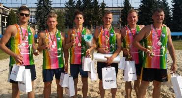 Para ze Zgierza triumfowała w Otwartych Mistrzostwach Łowicza w plażówce