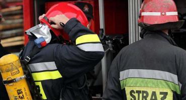Bielawy: pożar w zakładzie produkującym odzież