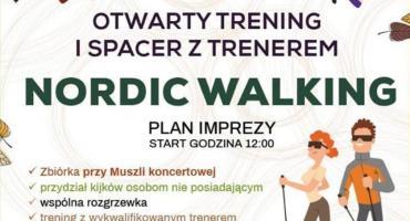 Otwarty trening i wspólny spacer z kijkami