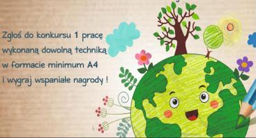 """Powiatowa Biblioteka Publiczna zaprasza na """"Ekologiczny Konkurs Plastyczny"""""""