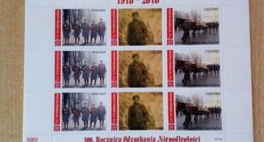 Łowickie znaczki na 100-lecie odzyskania niepodległości