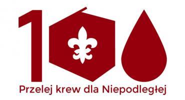 """Akcja """"Przelej krew dla Niepodległej"""" w Łowiczu"""