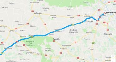 Na autostradzie A2 między Warszawą a Łodzią powstanie trzeci pas ruchu