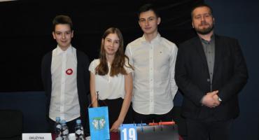 """Drużyna z """"Siódemki"""" najlepsza w konkursie historycznym"""