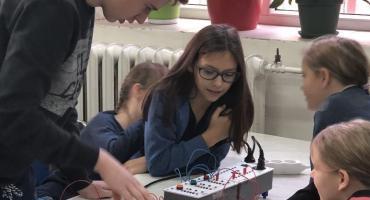 W ZSP nr 1 odbyły się warsztaty mechatroniczne dla uczniów szkół podstawowych