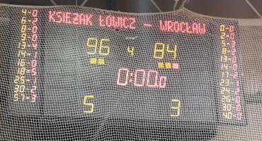 Syntex Księżak Łowicz: Wygrana po porażce