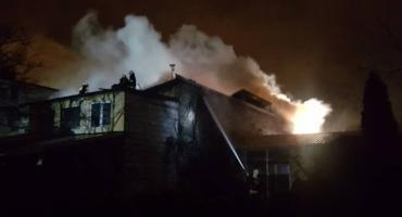 Ogromne straty po niedzielnym pożarze w Łowiczu. Znamy jego przyczynę