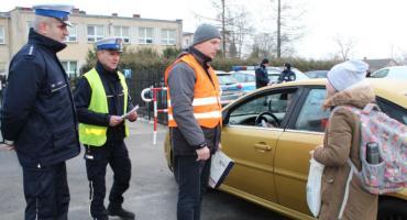 """Akcja """"Bezpieczny mały pasażer"""" w Nieborowie"""