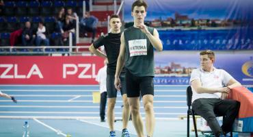 Nowy rekord i wysokie miejsce Tomka Wieteski w halowych mistrzostwach Polski