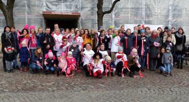 Akcja Nazywam się Miliard w Łowiczu. Taneczny protest przeciwko przemocy (ZDJĘCIA, VIDEO)