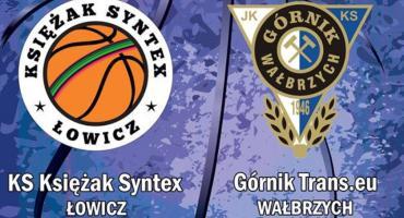 Księżak Syntex podejmie Górnika Trans.eu Wałbrzych. Link do transmisji