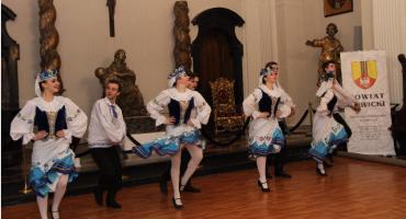 Zespół ludowy z Białorusi wystąpił w Łowiczu