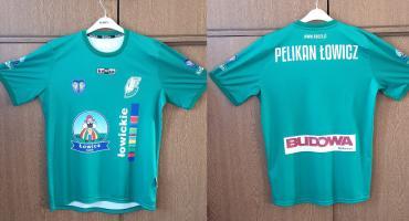Koszulki meczowe i szaliki Pelikana Łowicz trafiły do sprzedaży