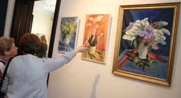 Wernisaż wystawy malarstwa Jerzego Dołhania w Łowiczu (ZDJĘCIA, VIDEO)
