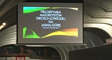 XXVI Pielgrzymka Maturzystów z diecezji łowickiej na Jasną Górę