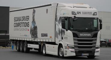 Finał regionalny Konkursu Kierowców Scania w Łowiczu