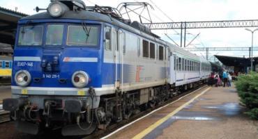 Kolizja pociągu TLK z koparką w Mysłakowie