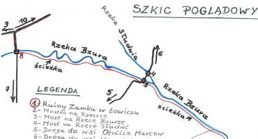Rekreacyjno-sportowa ścieżka wzdłuż rzeki Bzury?