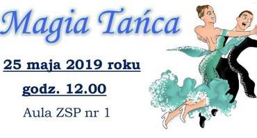 "Zaproszenie na sobotni koncert ""Magia Tańca"""