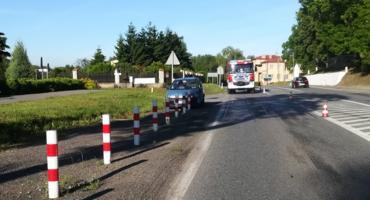 Wypadek w Domaniewicach. Ranna 49-latka, drugi z uczestników był pijany