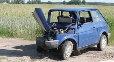 Dwie osoby poszkodowane w wypadku drogowym w Łaguszewie
