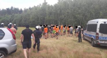 Łowickie: policjanci zapobiegli ustawce pseudokibiców dwóch zwaśnionych drużyn z Łodzi i Warszawy