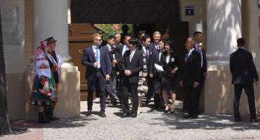 Japońska para książęca w Łowiczu (ZDJĘCIA, VIDEO)