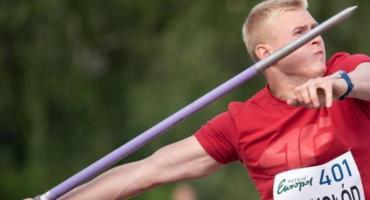 Cyprian Mrzygłód został młodzieżowym mistrzem Europy w rzucie oszczepem
