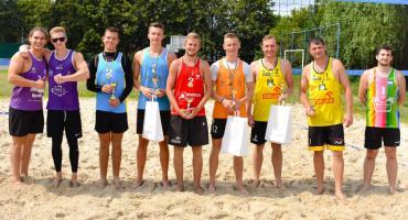 Siatkarze z Głowna najlepsi w turnieju plażówki w Łowiczu (ZDJĘCIA)
