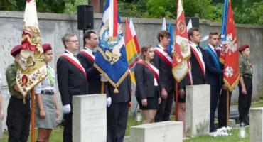 Uroczystości z okazji 75. rocznicy wybuchu Powstania Warszawskiego w Łowiczu