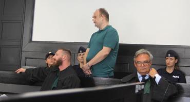 Mariusz S. nie przyznaje się do zabójstwa Mirona B. z Łowicza. Co mówił na sali rozpraw?