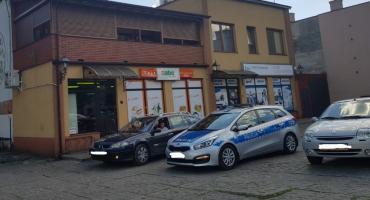 Kolizja dwóch samochodów na ul. Mostowej